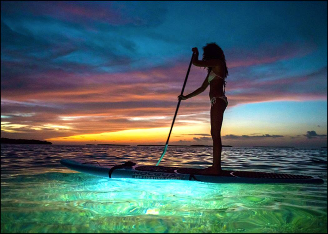 Night sup arawak expeditions for Night fishing spots near me