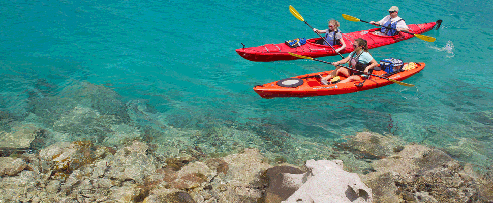 Kayak and Snorkel Day Trips