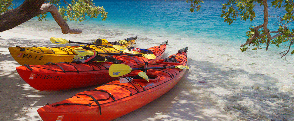 Kayak Excursions in the Virgin Islands
