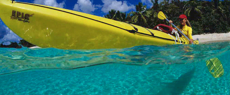 Kayak Excursions Around St. John