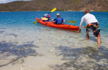Launching Kayaks - Otter Creek